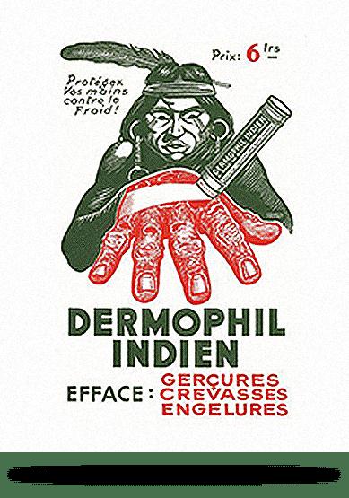 L'histoire de Dermophil Indien