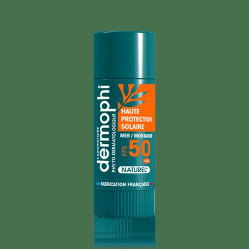 Soin des lèvres - Produits vendus en pharmacie - Stick Lèvres Solaire – Ski SPF 50 - Dermophil