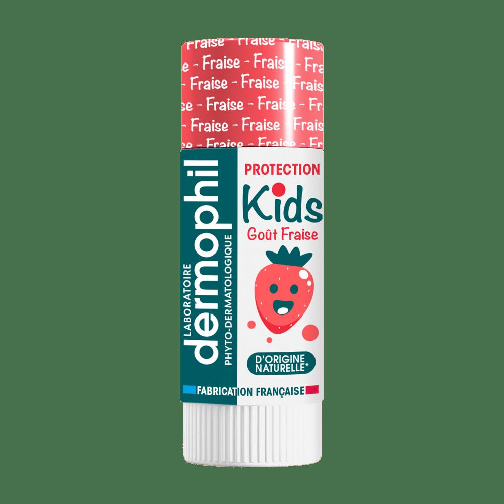 Soin des lèvres - Produits vendus en pharmacie - Kids Fraise - Dermophil