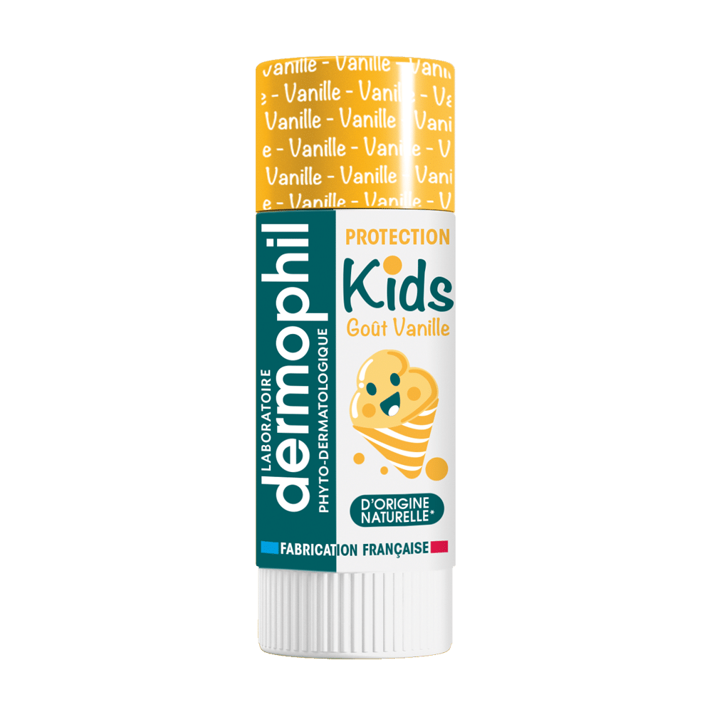 Stick à Lèvres Enfant - Soin des lèvres - Kids Vanille - Dermophil