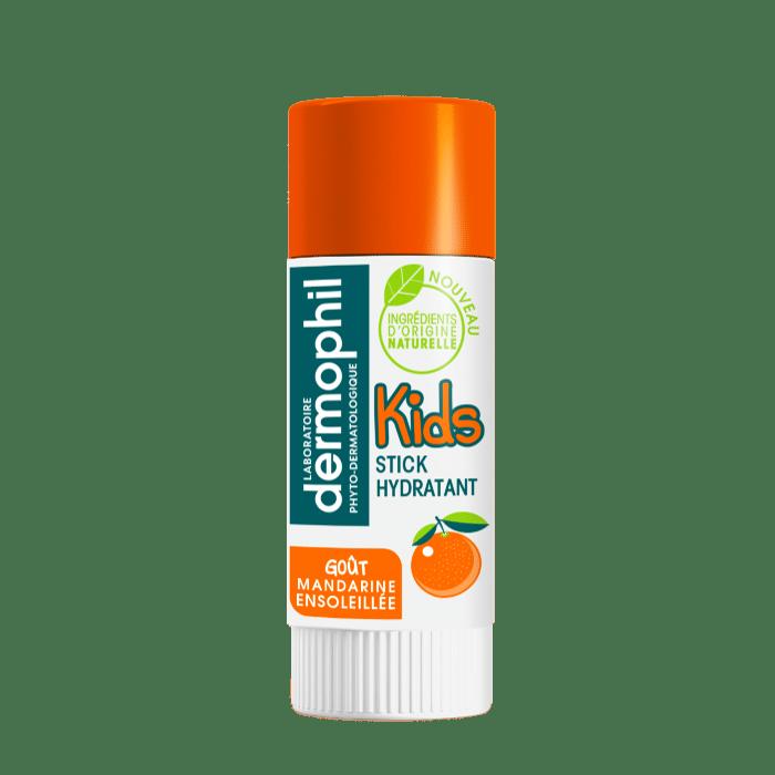 Soin des lèvres - Produits vendus en grande surface - Stick Lèvres Kids Mandarine Ensoleillée - Dermophil