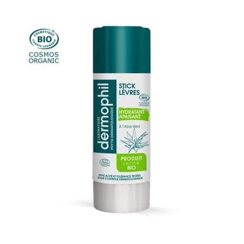 stick hydratant bio aloe vera pour lutter contre les lèvres desséchées